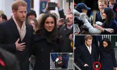 Prince Harry and Meghan Markle shared countless handshakes, high-fives, hugs and took presents including bags of Haribo sweets from crowds five-deep chanting their names in Nottingham today.