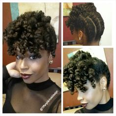 A Holiday Updo for Your Natural Hair! |  | Natural Hair Styles and Natural Hair Care Cute designs on curly hair, ponytail styles, with weave, with braids on African American black women. Natural undercut ideas and styles. Quick & easy tutorials for long hair styles, buns,bangs,braids,styles with layers for teens& for summer looks. For women with both straight & curly haircuts, school & work ideas, updos for round faces & thin faces…