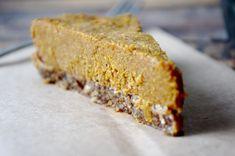 Vegan & Gluten Free - Frozen Pumpkin Pie Dessert!