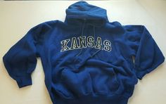 Boys Royal Blue Kansas Graphic Pullover Hoodie Sweatshirt Large 12-14 Youth #45 in Clothing, Shoes & Accessories, Kids' Clothing, Shoes & Accs, Boys' Clothing (Sizes 4 & Up)   eBay