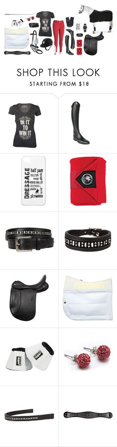 """In It To Win It"" by equestrianartist ❤ liked on Polyvore featuring Parlanti, Bling Jewelry and Hermès"