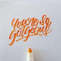 Crayola & Brushpen Lettering Set 3 on Behance