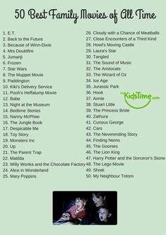 netflix movies 50 of the Best Family Movies of All Time Checklist Films Netflix, Netflix Movies To Watch, Good Movies On Netflix, Movie To Watch List, Disney Movies To Watch, Film Disney, Teen Movies, Good Movies To Watch, Shows On Netflix