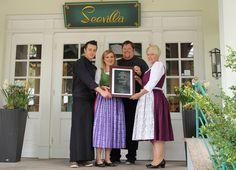 Restaurant der Seevilla im Falstaff ausgezeichnet Das Romantik Hotel Seevilla wurde unter Österreichs beste Restaurants gewählt.