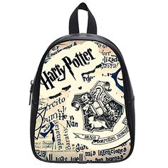 Large Size Harry Potter Printing Shoulders Backpack Custom High School Students Backpack for Travel or Party