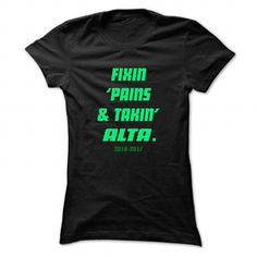 Fixin ... ALTA - Cool Name Shirt ! - #gift for girls #mothers day gift. LIMITED TIME PRICE => https://www.sunfrog.com/LifeStyle/Fixin-ALTA--Cool-Name-Shirt-.html?68278