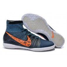 0248c7cb8 Výprodej Nike Elastico Superfly IC tmavě modrá oranžová nízká fotbalová  obuv Nike Fussball