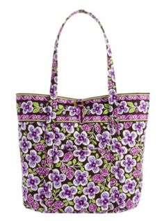 Plum Petals by Vera Bradley.  VERA BRADLEY IS MY FAV.  I love how you can wash these.   :)