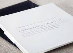 Wedding Invitations: Sans Serif Modern