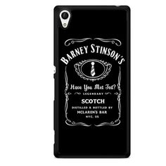 Barney Stinson Have You Met Ted Jack Daniels How I Met Your Mother TATUM-1352 Sony Phonecase Cover For Xperia Z1, Xperia Z2, Xperia Z3, Xperia Z4, Xperia Z5