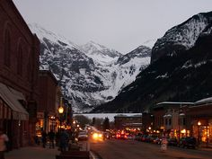 Telluride, Colorado..been there once would love to go again!