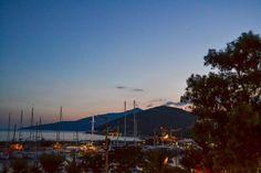 Harbor at dusk. [Summer 2015]