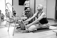 19 best iyengar yoga chair forward bends images  iyengar