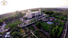 The palace is set in 13 acres of terraced upland rising from a hilly stream and surrounded by 10 lush green gardens and designed flower beds. Picture Courtesy: Ronak Saini