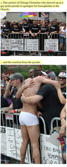 humanity restored. some amazing acts ...