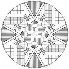 Mandala 12 Printable Coloring Pages Ornamenti