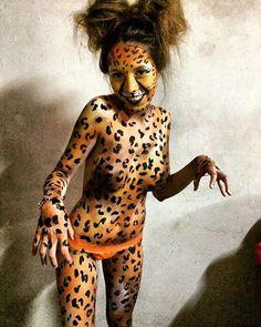 #bodypaint #bodypainting #tigre #felino #SABADO