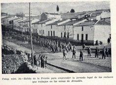 Batallón de trabajadores forzados. Dictadura franquista.