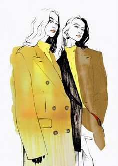 Jil Sander fashion illustration Alina Grinpauka small costumes - fits your own . - Jil Sander fashion illustration Alina Grinpauka small costumes – fits your own style instead of h - Art And Illustration, Illustration Tutorial, Fashion Illustration Sketches, Fashion Sketches, Fashion Design Sketchbook, Fashion Design Drawings, Jil Sander, Orca Tattoo, Fashion Figures
