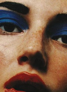 The Face by David Sims, 1998                                                                                                                                                                                 More