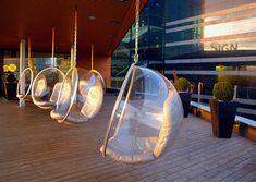 eero aarnio hanging bubble chair u0026 indoor or outdoor stand