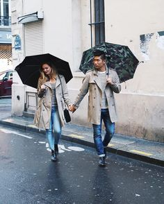 Twinning on a rainy day  #RelationshipGoals  #Paris --- Follow @LevitateTravel for more travel posts http://ift.tt/10fRvFt  #LevitateFrance