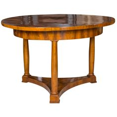 Biedermeier Center Table | From a unique collection of antique and modern center tables at https://www.1stdibs.com/furniture/tables/center-tables/