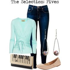 """The Selection: Fives"" by charlizard on Polyvore"