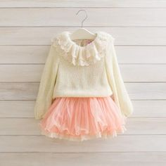 """Pink and cream """"glamour girl"""" dress"""