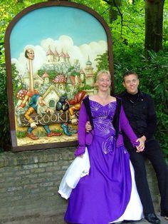 Yvon van der Velden en haar man startten hun sprookje bij het Sprookjesbos