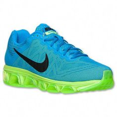size 40 6f62a 3a6e1 Men s Nike Air Max Tailwind 7 Running Shoes   Finish Line   Photo  Blue Black Electric Green