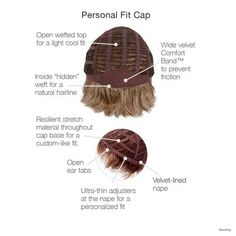 Gabor Personal Fit Cap - Becoming
