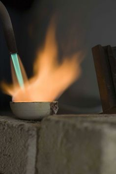 Regina Imbsweiler jewelry - Studio Photos #goldsmith #fire