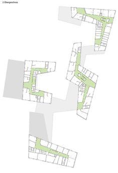 Bildungszentrum Tor zur Welt,Second Floor Plan
