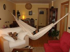 Large Ranchos hammock in ecru