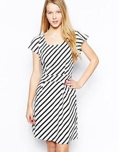 Enlarge Vero Moda Striped Skater Dress