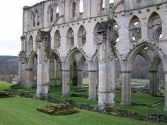 dailydoseofstuf: Rievaulx Abbey, Yorkshire