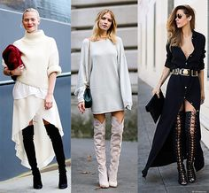 How To Wear Thigh-High Boots: 5 Tips for Looking Totally Chic, Not ...