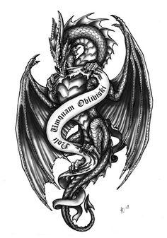 chinese dragon tribal tattoo designs - Google Search