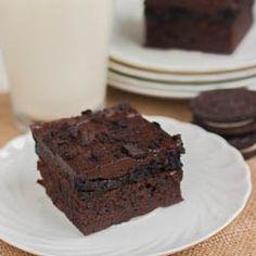 Oreo Truffle Brownies