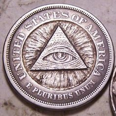 John Hughey - 1883 Liberty All Seeing Eye Hobo Nickel, Dad Tattoos, Coin Art, All Seeing Eye, Antique Coins, Old Money, Challenge Coins, Ceramic Jewelry, Coin Collecting