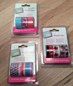 Washi Masking Tape 11 Rollen Reispapier Filofax Klebeband Basteln Scrapbooking | eBay