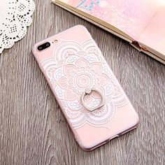 Ring Grip Lace Flower Pattern Case For iphone 7 Case Hollow Retro Vintage Relief Phone Cases For iphone 6 Case Cute Phone Cases, Iphone Cases, Iphone 8, Iphone 7 Plus, Coque Iphone 6, Iphone Charger, Iphone Accessories, Iphone Photography, Apple Iphone 6