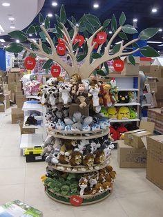 Премиальная рекламная стойка Дерево Труди