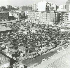 Mercado de ganado hoy parque de los Reyes.