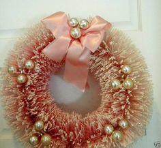 Bottle brush wreath ... by heidi