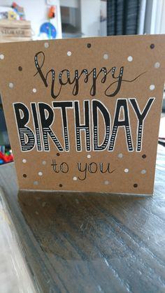 verjaardag, jarig, happy birthday