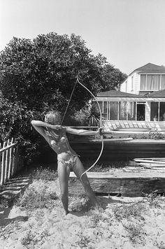 Jane Fonda, 1965.    Photo by Dennis Hopper