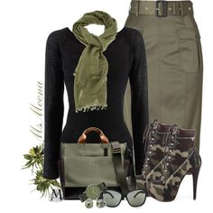"""Camo Boots"" by msmeena on Polyvore"