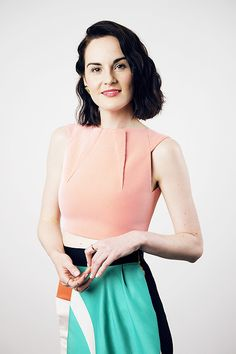 Michelle Dockery poses for a portrait at the BAFTA Tea Party on August 23, 2014 in Los Angeles, California.